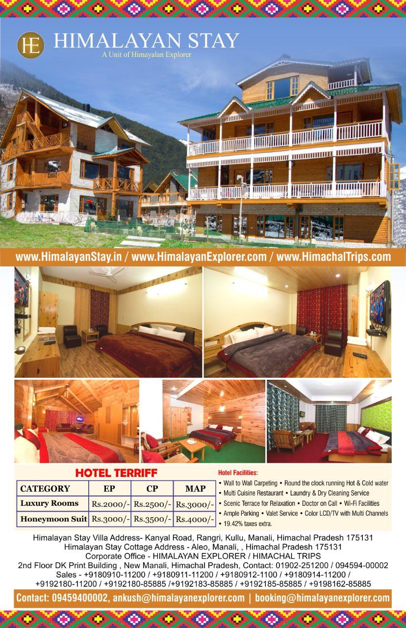 Hotel Himalayan Stay Manali